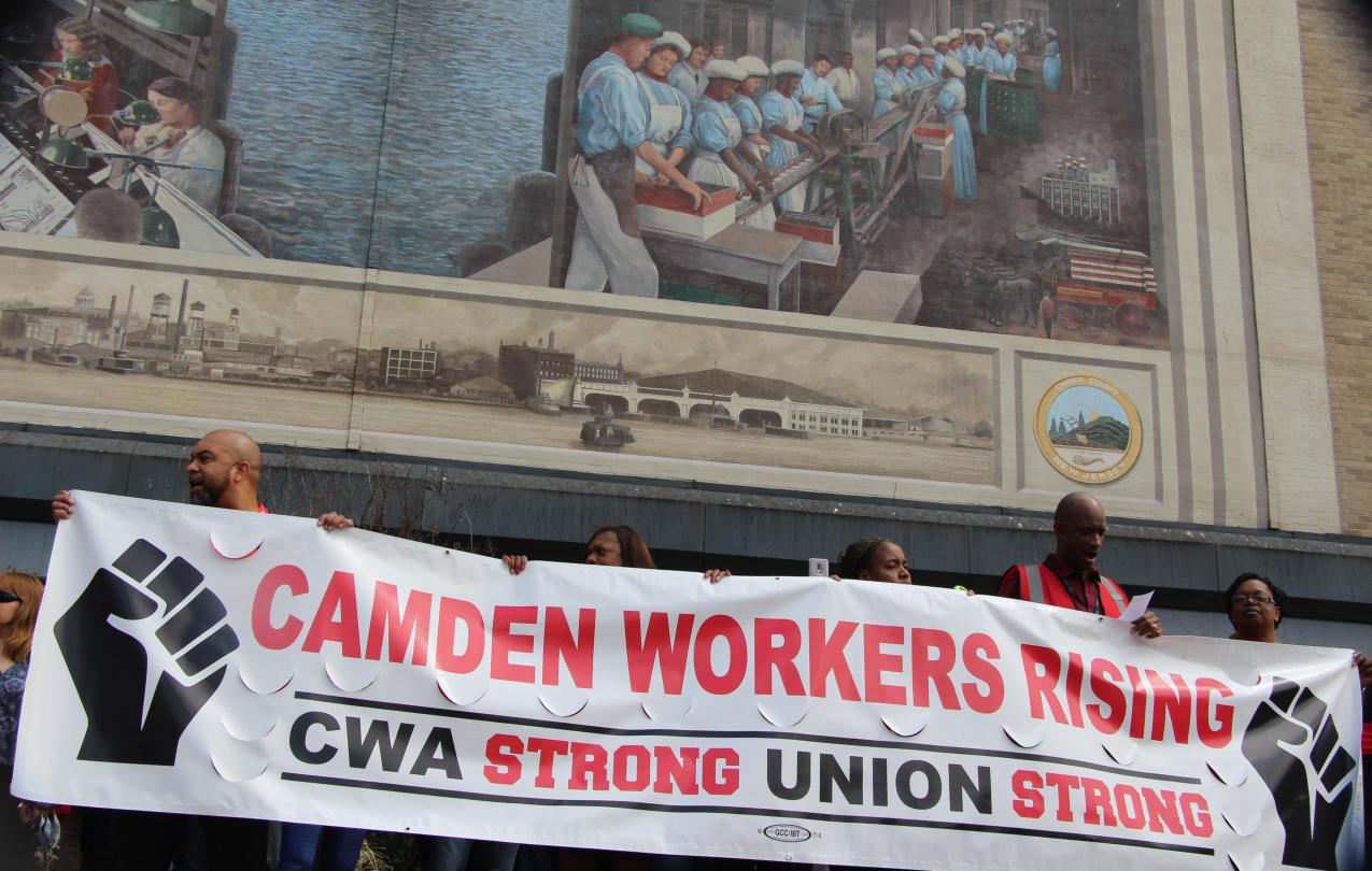 5.10.18 Camden Workers Rising Rally
