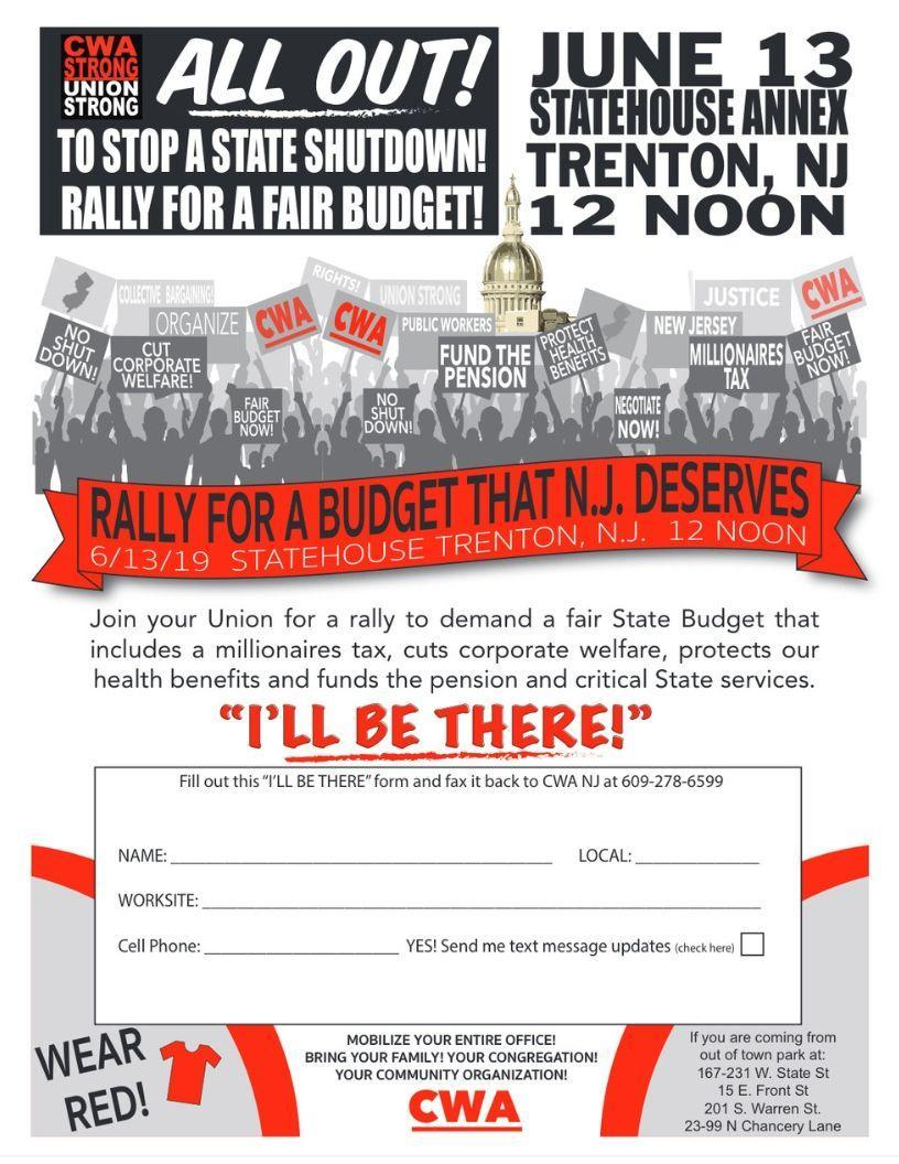 Trenton Rally June 13