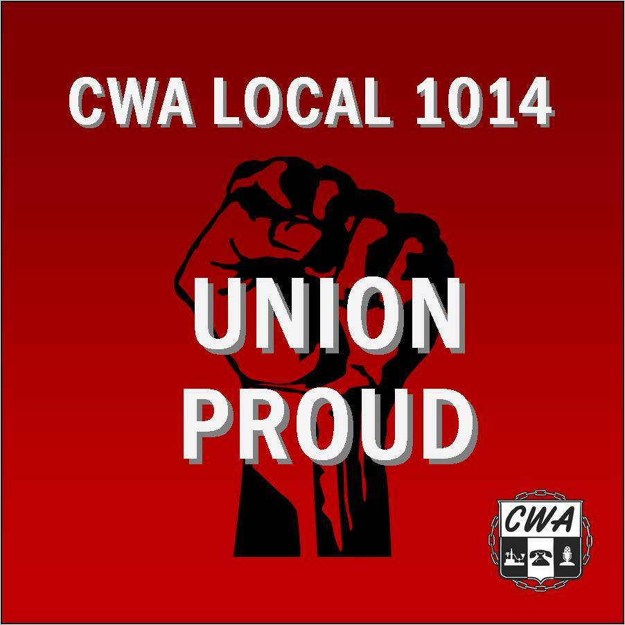 CWA Local 1014 Logo